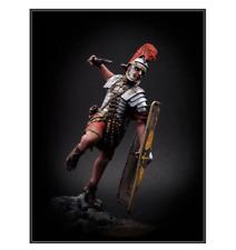 1:24 Figura De Resina Soldado Romano Modelo Sin Pintar
