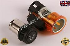 Orange 12V Cigarette Lighter for Peugeot Bipper Citroen Nemo #OE 759155 8227C8