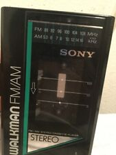 Vintage Sony Walkman WM-F12 AM/FM Stereo Radio Cassette Player - Tested Working