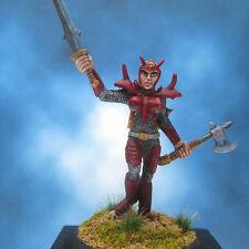 Painted Reaper Miniature Female Bloodguard