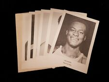 Set of 6 1972-73 New York Nets ABA Picture Pack Photographs