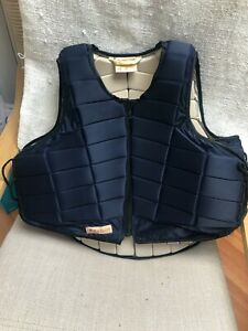 Racesafe Body Protector large adult short/standard back blue