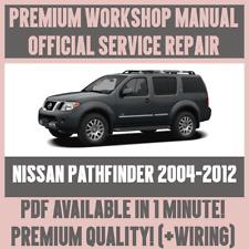 *WORKSHOP MANUAL SERVICE & REPAIR GUIDE for NISSAN PATHFINDER 2004-2012 +WIRING