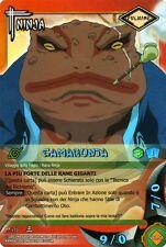 NARUTO CARD GAME Gamabunta NI-128 FOIL NEW MINT RARE