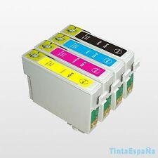4 Cartuchos Non Oem EPSON T0715 STYLUS DX 6050 DX 7000F DX 7400 DX 7450 DX 8400