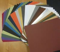 50 of 16x20 UNCUT ASSORTMENT Color Matboard