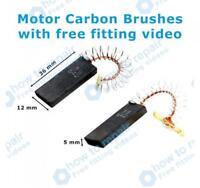 BOSCH Motor Carbon Brushes WAE24467GB/08 WAE24467UK/01 WAE24467UK/10
