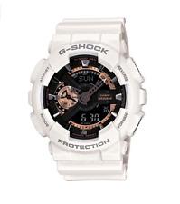 New Casio G-Shock GA110RG-7A White Black with Rose Gold Men Watch