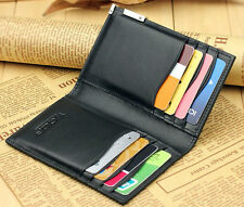 Cool-Slim Wallet Thin Credit Card Holder Mini Purse ID Case Best Gift
