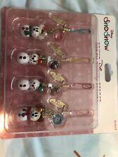 Tokyo Disney Resort Mickey & Minnie Snowman Christmas Snosnow Phone Strap New