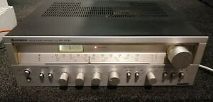 Hitachi SR-304L Vintage Amplifier receiver mm phono nice sound fab retro looks