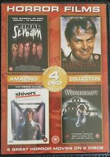 HORROR FILMS COLLECTION - 4 FILMS ON 2 DVDS.inc SHIVERS & WITCHCRAFT.REG 2.