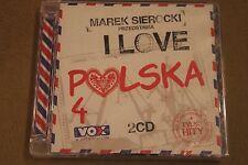 Marek Sierocki Przedstawia  I love Polska vol 4  2CD POLISH RELEASE - NEW SEALED