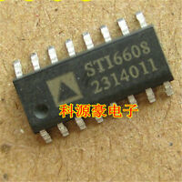 5pcs New STI6608 SOP16 instrument step motor chip compatible STI6606Z/VID-6608