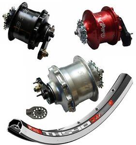 """Laufrad Rohloff Speedhub Modell 8015 / 8016 / 8017 CC OEM diverse Größen 20-28"""""""