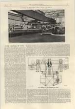 1924 Five Ton Underhung Jib Crane Gas Engineering