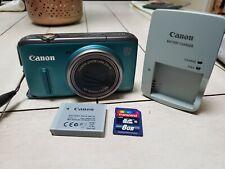 Canon PowerShot SX260 HS 12.1MP Digital Camera - Green
