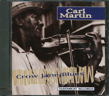 Carl Martin - Crow Jane Blues (CUTOUT) CD **BRAND NEW/STILL SEALED**