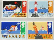 Gb Mnh Scott 1107-1110, 1985 issue, Safety at sea, set of 4