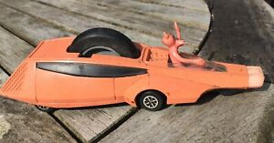 pink panther Dinky car Rare With Figure