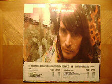 PROMO COLUMBIA LP RECORD/JAKE HOLMES/ HOW MUCH TIME/ VG+ VINYL /PSYCH FOLK