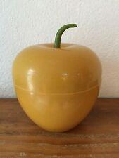 très rare BAC à Glaçons pomme MOUTARDE  Seau à glace 70's   vintage