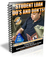 STUDENT LOAN DO'S AND DONT'S PDF EBOOK FREE SHIPPING RESALE RIGHTS