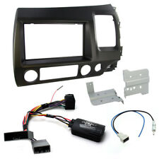 Honda Civic Hybrid 06-11 Car Stereo Fascia Fitting Kit + Steering Wheel Controls