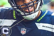 NFL 2017 SEASON SEATTLE SAEHAWKS' CAPTAIN Bobby Wagner JERSEY 2-⭐CAPTAIN PATCH