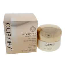 Benefiance NutriPerfect Day Cream SPF 18 by Shiseido for Unisex - 1.8 oz Cream