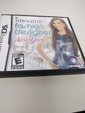 Imagine Fashion Designer New York Nintendo DS