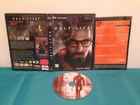 Half-Life 2 (PC, 2004) Case-disc & insert FRENCH PAL NO CD-KEY