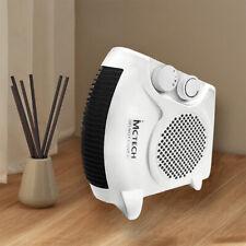 Heizgerät Schnellheizer Elektro Heizung 2000W Heizgeblaese Heizventilator Weiß
