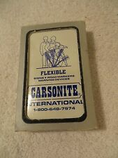 Deck of Carsonite International Playing Cards
