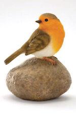 Robin on a Stone Garden Ornament Gf9940 19863