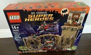 LEGO DC Comics Super Heroes Batman Classic TV Series Batcave 76052 New & Sealed