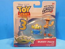 Disney Toy Story 3 Buddy Pack Waving  Woody and Alien Action Links New!