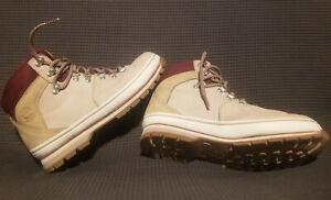 Timberland Womens EuroHiker Waterproof Boots - Light Beige Size 9.5 TB 0A2B8EL47