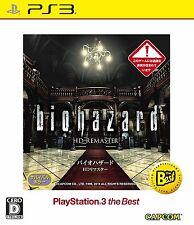 NEW PS3 Biohazard / Resident Evil HD Remaster BLJM-55085 PS3 the Best Japan
