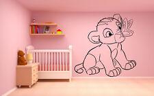 Vinyl Wall Decal Sticker Decor Nursery Lion King Simba DIsney Cartoon O200