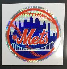 New York Mets MLB Baseball Color Logo Sports Decal Sticker - FREE SHIPPING