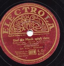 Rudi Schuricke Terzett+ Hans Carste Tanzorchester : Und die Musi spielt dazu