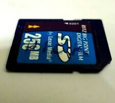Lexar 256 MB SD memory Card - (SD256-266)