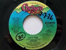 "JIGSAW - Love Fire / Mystic Harmony 1975 AOR POP ROCK 7"" EX"