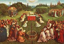 Old Art Postcard-GENT-Van Eyck-Het Lam Gods