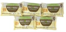 New listing 5 Pack Miracle Noodle Plant Based Noodles Fettuccini Style Noodle Keto Friendly