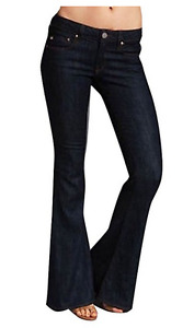 *NWT*William Rast Women's Ryley Flair Jeans In Park Ave 26 MSRP:$185