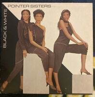 Pointer Sisters - Black & White - 1981 Vinyl LP - P-18