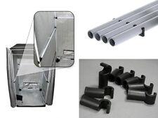 Homebox Grow Tent Side Roof Bars Fixture Poles 120cm & Hooks 22MM Tent FP120-22
