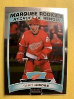 2019-20 OPC Platinum Marquee Rookies #198 Taro Hirose Detroit Red Wings RC
